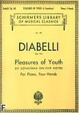 Okładka: Diabelli Antonio, Pleasures Of Youth (6 Sonatinas On 5 Notes), Op. 163