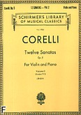 Okładka: Corelli Arcangelo, Twelve Sonatas, Op. 5 - Volume 2 (Piano / Violin)