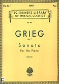 Okładka: Grieg Edward, Sonata, Op. 7