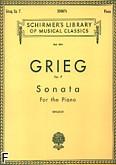 Ok�adka: Grieg Edward, Sonata, Op. 7