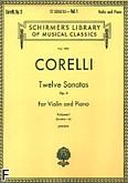 Okładka: Corelli Arcangelo, Twelve Sonatas, Op. 5 - Volume 1 (Piano / Violin)