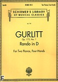 Okładka: Gurlitt Cornelius, Rondo D-dur, op. 175, nr 1 (Set)