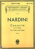 Okładka: Nardini Pietro, Koncert e-moll (Piano / Violin)
