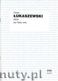 Ok�adka: �ukaszewski Pawe�, Moai per flauto solo