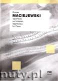 Okładka: Maciejewski Roman, Tryptyk na fortepian