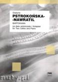 Okładka: Pstrokońska-Nawratil Grażyna, Bartokiana na dwie wiolonczele i fortepian
