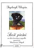 Okładka: Chopin Fryderyk, 6 pieśni na chór dziecięcy a cappella