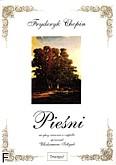 Ok�adka: Chopin Fryderyk, Pie�ni