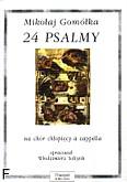 Okładka: Gomółka Mikołaj, 24 Psalmy na chór chłopięcy a cappella (opr.W.Sołtysik)