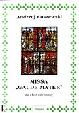 Ok�adka: Koszewski Andrzej, Missa