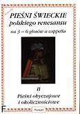 Ok�adka: Lawrence Robert, So�tysik W�odzimierz, Pie�ni �wieckie polskiego renesansu cz. 2 na 3 - 6 g�os�w a cappella. Pie�ni obyczajowe i okoliczno�ciowe