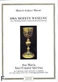 Okładka: Mazur Marcin Łukasz, Dwa motety weselne