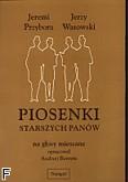 Okładka: Przybora Jeremi, Wasowski Jerzy, Piosenki Starszych Panów