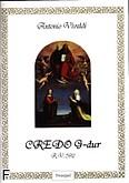 Okładka: Vivaldi Antonio, Credo G-dur R.V. 592 (partytura)