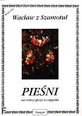 Okładka: Wacław z Szamotuł, Pieśni na cztery głosy a cappella