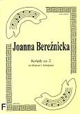 Okładka: Bereźnicka Joanna, Kolędy cz. 2 na klarnet i fortepian