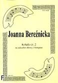 Okładka: Bereźnicka Joanna, Kolędy cz. 2 na saksofon altowy i fortepian