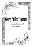 Okładka: Telemann Georg Philipp, 12 fantazji, fantazja nr 7