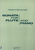 Okładka: Muczynski Robert, Sonata Op. 14 for Flute and Piano