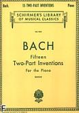 Ok�adka: Bach Johann Sebastian, Inwencje dwug�osowe