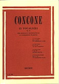 Okładka: Concone Joseph, 15 Vocalizzi Op. 12