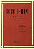 Okładka: Boccherini Luigi Rodolpho, 6 Sonatas - Viloncello and Piano