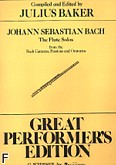 Ok�adka: Bach Johann Sebastian, Flute Solos From The Bach Cantatas, Passions And Oratorios
