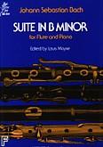 Ok�adka: Bach Johann Sebastian, Suite In B Minor (Flute / Piano)