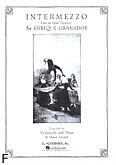 Okładka: Granados Enrique, Intermezzo (From Goyescas) (Cello / Piano)