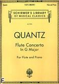 Ok�adka: Quantz Johann Joachim, Flute Concerto In G Major (Flute / Piano)