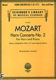 Okładka: Mozart Wolfgang Amadeusz, Koncert na róg F nr 2 (róg i fortepian)