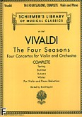 Okładka: Vivaldi Antonio, The Four Seasons (Spring, Summer, Autumn, Winter) (Complete)