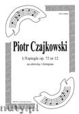 Okładka: Czajkowski Piotr, L'Espiegle, op. 72 nr 12, na altówkę i fortepian