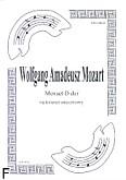 Okładka: Mozart Wolfgang Amadeusz, Menuet D-dur (partytura + głosy)