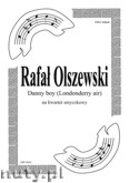 Okładka: Olszewski Rafał, Danny Boy (Londonderry Air) irlandzka mel. lud. na kwartet smyczkowy (partytura + głosy)