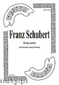 Okładka: Schubert Franz, Kołysanka na kwartet smyczkowy (partytura + głosy)