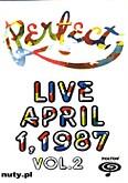 Okładka: Perfect, Live April 1, 1987