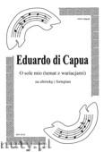 Ok�adka: Capua Eduardo di, O sole mio (temat z wariacjami) na alt�wk� i fortepian