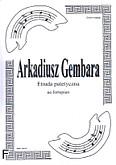 Okładka: Gembara Arkadiusz, Etiuda patetyczna