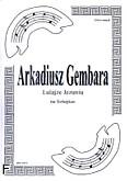 Ok�adka: Gembara Arkadiusz, Lulaj�e Jezuniu