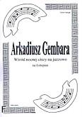 Ok�adka: Gembara Arkadiusz, W�r�d nocnej ciszy na jazzowo na fortepian