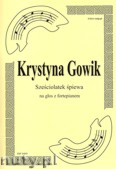 Ok�adka: Gowik Krystyna, Sze�ciolatek �piewa