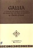 Ok�adka: Gounod Charles, Gallia