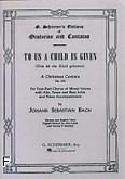 Okładka: Bach Johann Sebastian, Cantata No. 142: Uns Ist Ein Kind Geboren