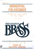 Okładka: Vosbein Terry, Canadian Brass: Immortal Folksongs (głosy)