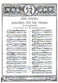 Okładka: Haydn Franz Joseph, Sonata No. 9