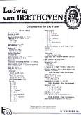 Ok�adka: Beethoven Ludwig van, 6 �atwych wariacji