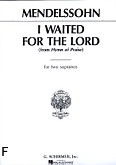 Okładka: Mendelssohn-Bartholdy Feliks, I Waited For The Lord (From Hymn Of Praise)