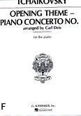 Okładka: Czajkowski Piotr, Concerto No. 1 - Opening theme, op. 23