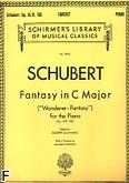 Ok�adka: Schubert Franz, Fantasy In C op. 15/D. 760 (Wanderer)